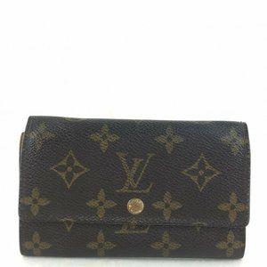 Louis Vuitton Brown Monogram Leather wallet